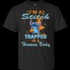 I'm Stitch Trapped In A Human Body T-Shirt