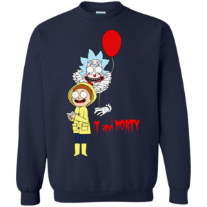It Clown And Morty Shirt, Hoodie, Tank