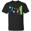 Doctor Who Meet Rick And Morty T-Shirt