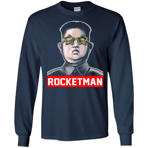 Kim Jong Un Rocketman T-Shirt