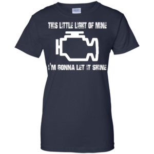 This little light of mine – i'm gonna let it shine t-shirt