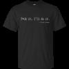 F-ck it, I'll do it – black women t-shirt