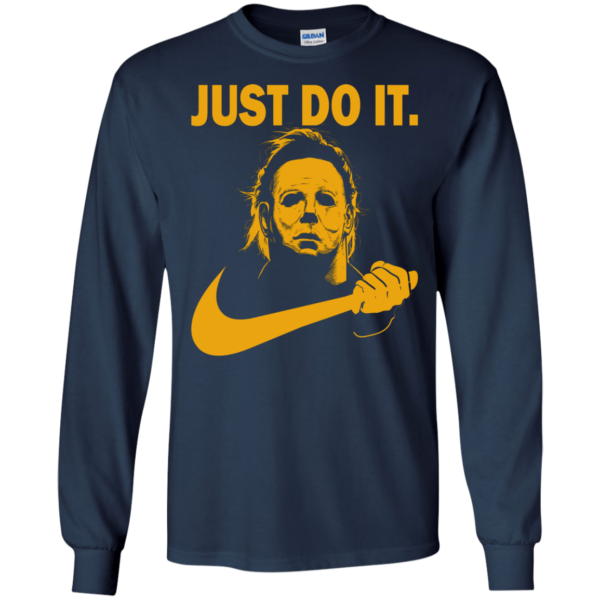 Halloween michael myers just do it t-shirt