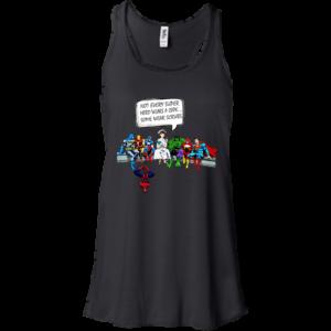 Nurse and Superheroes – Not Every Super hero wears a cape some wear scrubs t-shirt