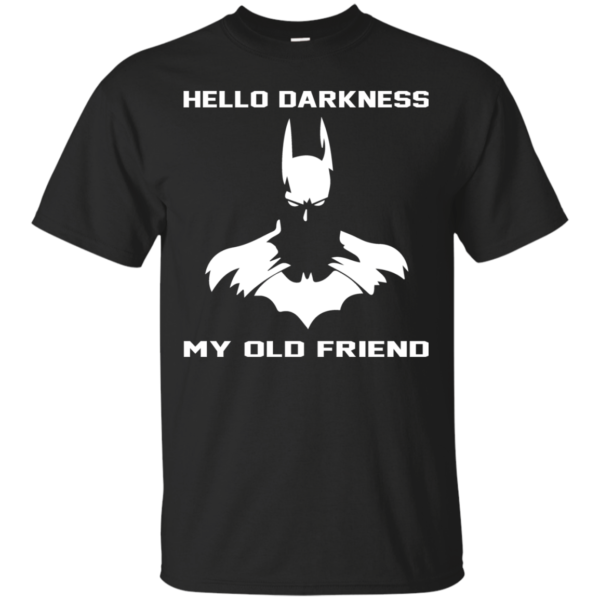 Batman – Hello Darkness My Old Friend T-Shirt