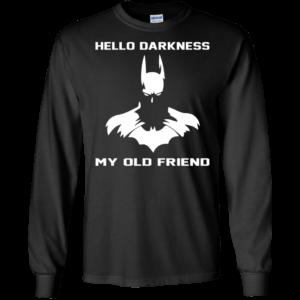 Batman – Hello Darkness My Old Friend T-Shirt