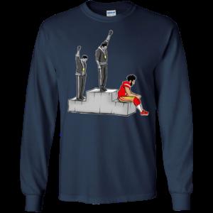 Colin Kaepernick #FightThePower Take a knee t-shirt