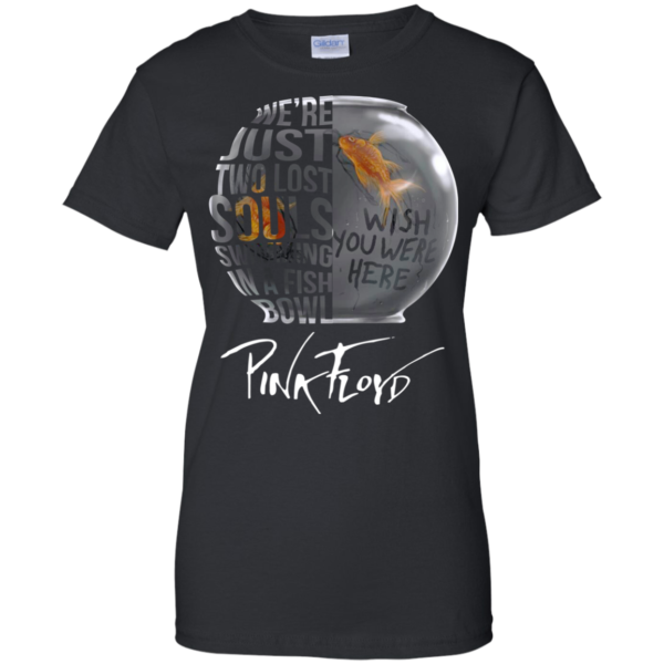 Pinkfloyd – We're Just Two Lost Souls Swimming In A Fish Bowl T-Shirt