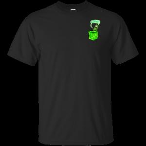 Rick and Morty – Pickle Rick Tiny Pocket T-Shirt