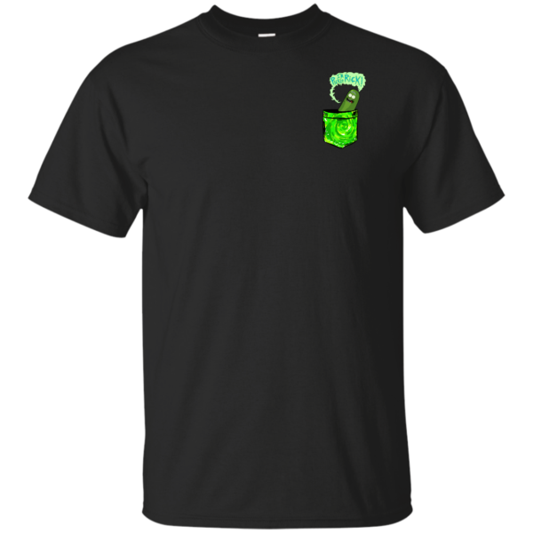 Rick and Morty – Pickle Rick Tiny Pocket T-Shirt