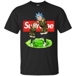 Rick And Morty Supreme Shirt, Hoodie, Tank