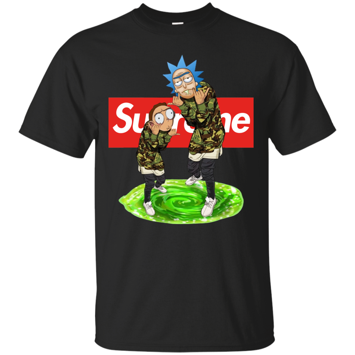 Rick And Morty Supreme Shirt Hoo Tank