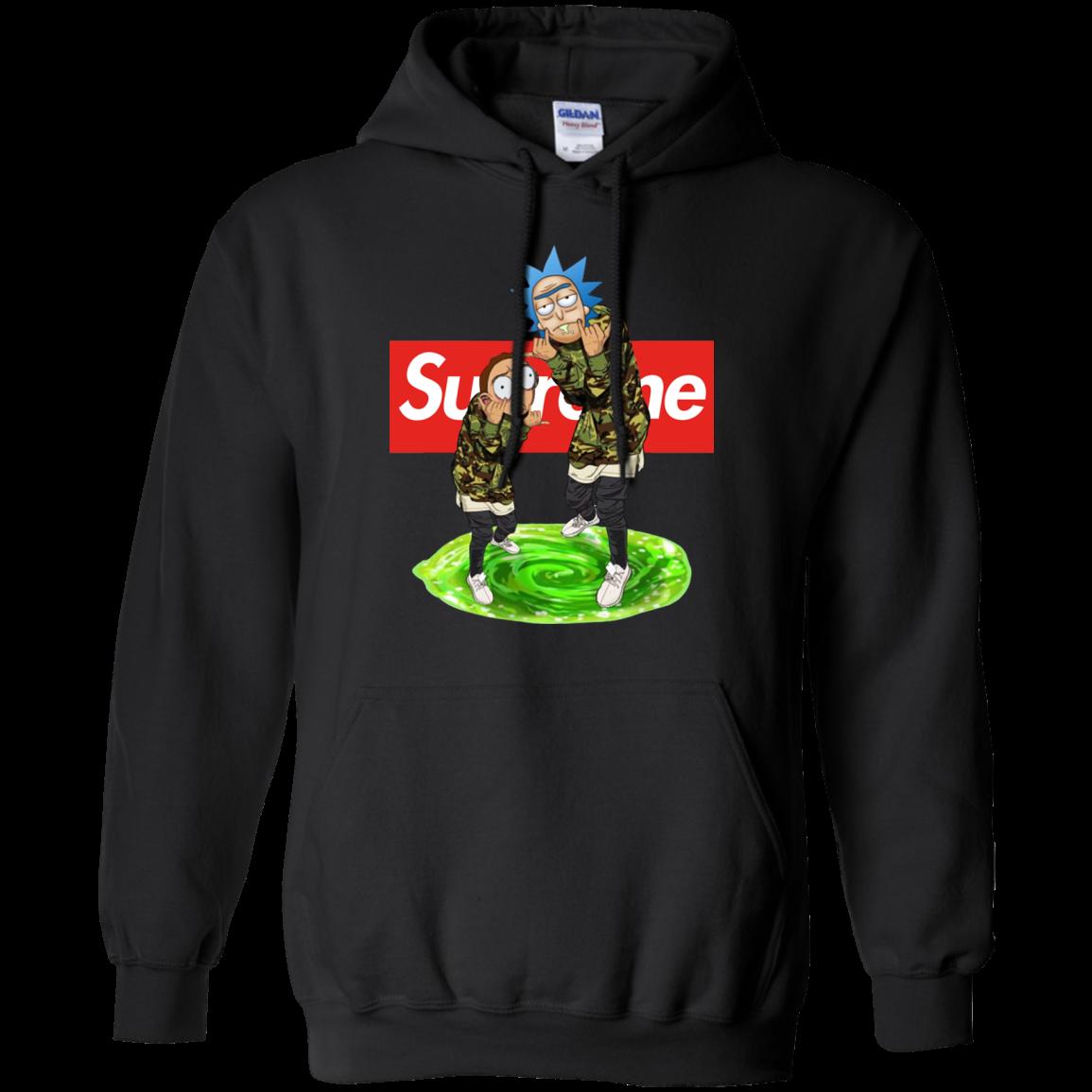 Rick And Morty Supreme Shirt, Hoodie, Tank   Allbluetees Com