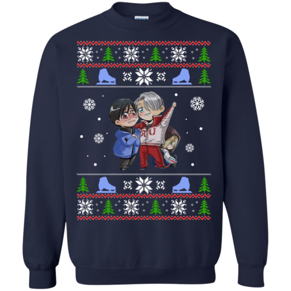 Yuri on Ice Christmas Ugly Sweater