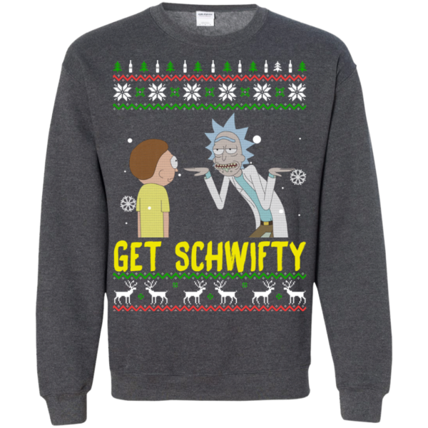 Rick and Morty – Get Schwifty Christmas Sweatshirt