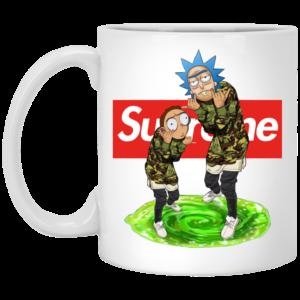 Rick And Morty Supreme Mugs