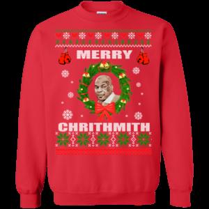 Mike Tyson Merry Chrithmith Christmas Sweatshirt