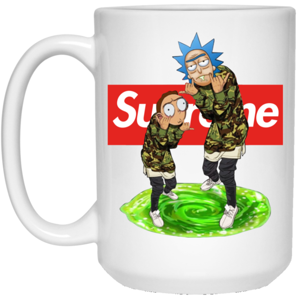 Rick And Morty Supreme Mugs