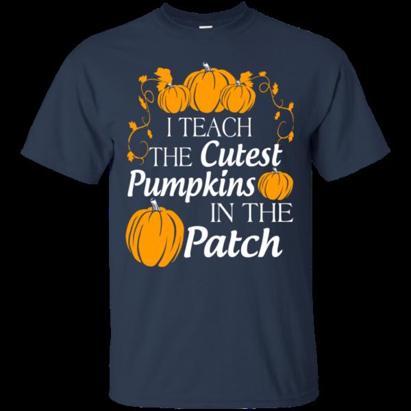 I teach the cutest pumpkins in the patch t-shirt
