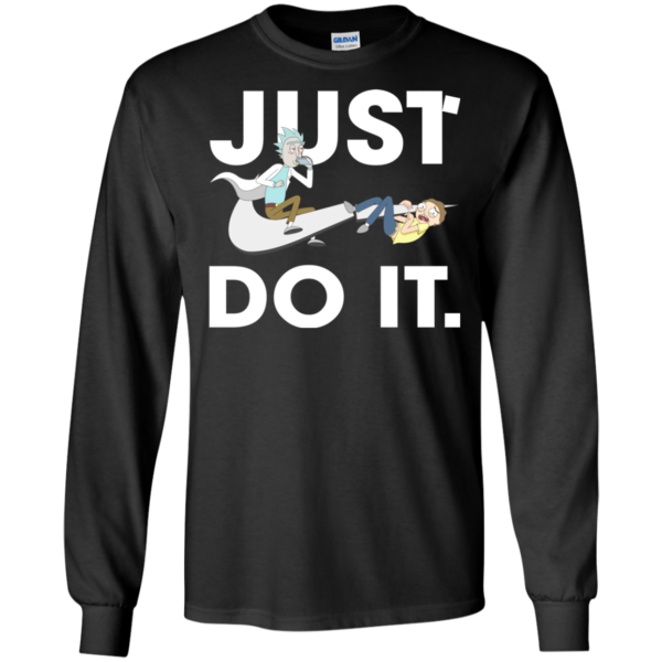 Rick And Morty – Just Do It Shirt, Hoodie, Tank
