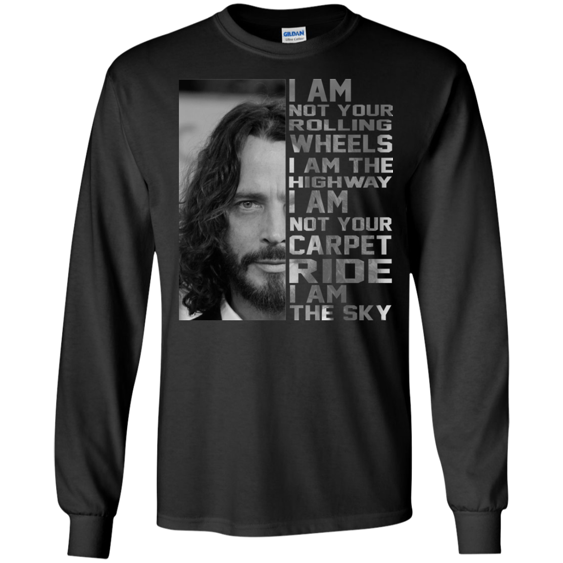 Chris cornell i am not your rolling wheels i am the for I will t shirt