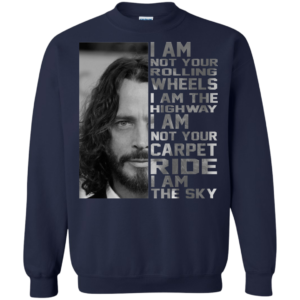 Chris Cornell – I Am Not Your Rolling Wheels I Am The Highway T-Shirt