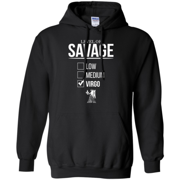 Level Of Savage Virgo Shirt, Hoodie, Tank