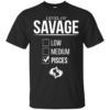 Level Of Savage Pisces Shirt, Hoodie, Tank