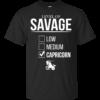 Level Of Savage Capricorn Shirt, Hoodie, Tank