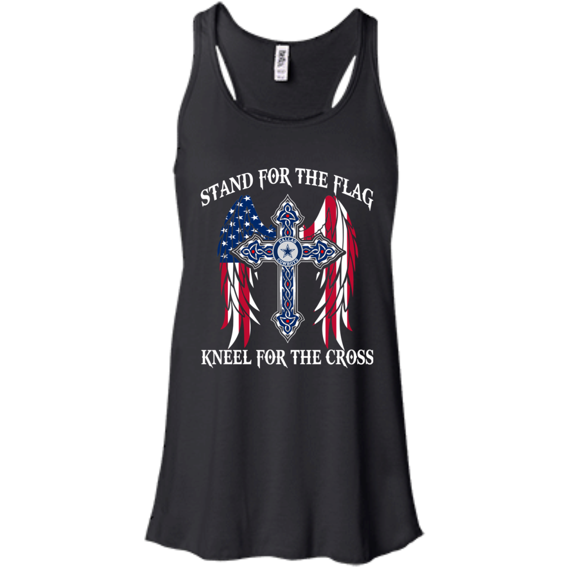 Dallas Cowboys Stand For The Flag Kneel For The Cross
