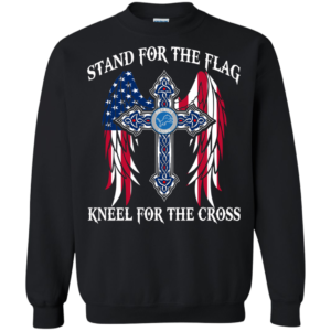 Detroit Lions – Stand for the flag kneel for the cross shirt, sweatshirt
