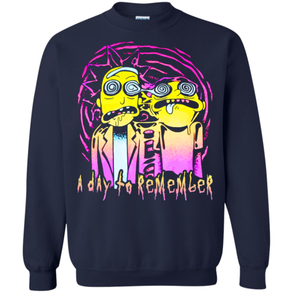 Rick and Morty – A day to remember shirt, hoodie, tank