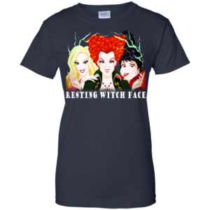 Hocus pocus – Resting Witch Face Shirt, Hoodie, Tank