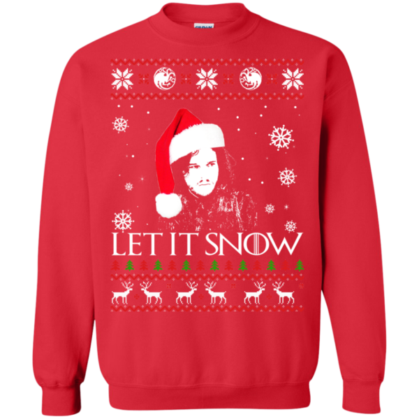 Game Of Thrones – Let It Snow Christmas Sweater