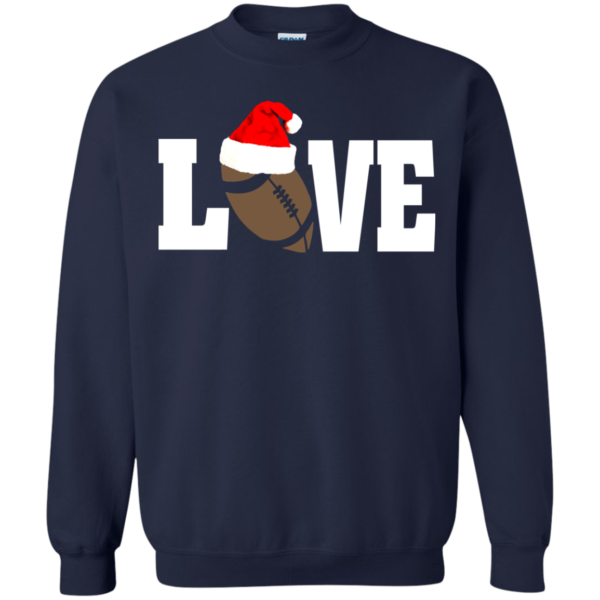 Football Love Christmas Holiday Shirt, Sweatshirt