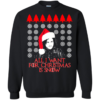 Game Of Thrones – All I Want For Christmas Is Snow Sweater