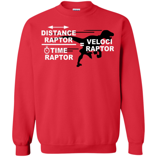 Distance Raptor – Time Raptor – Veloci Raptor Shirt, Hoodie