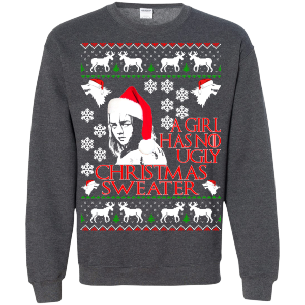 Game Of Thrones – A Girl Has No Ugly Christmas Sweater