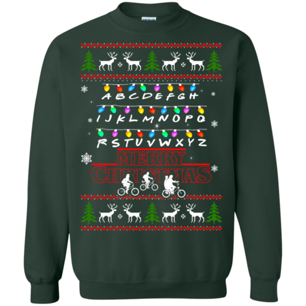 Stranger Things Merry Christmas Ugly Sweater
