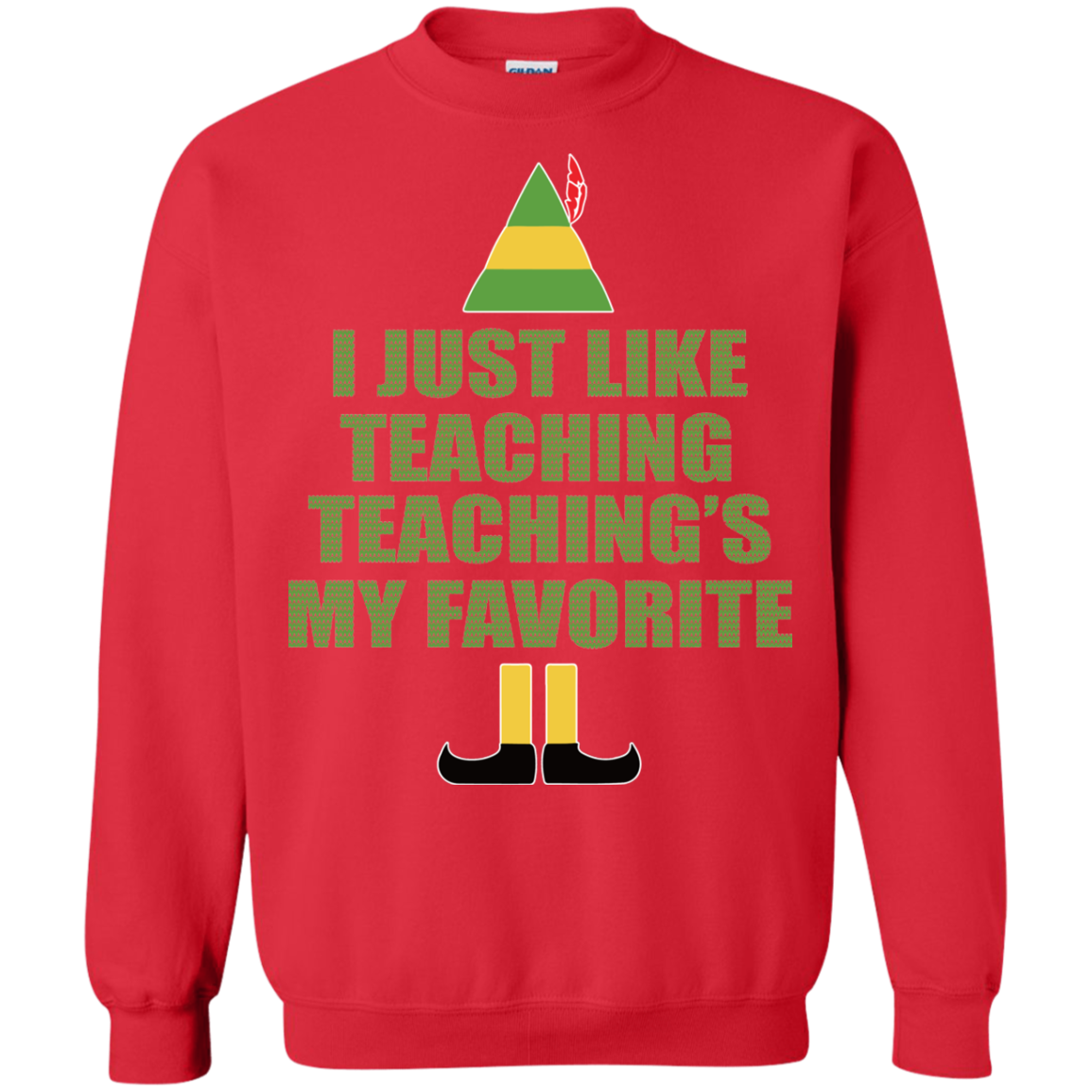 Buddy The Elf - I Just Like Teaching Christmas Sweater