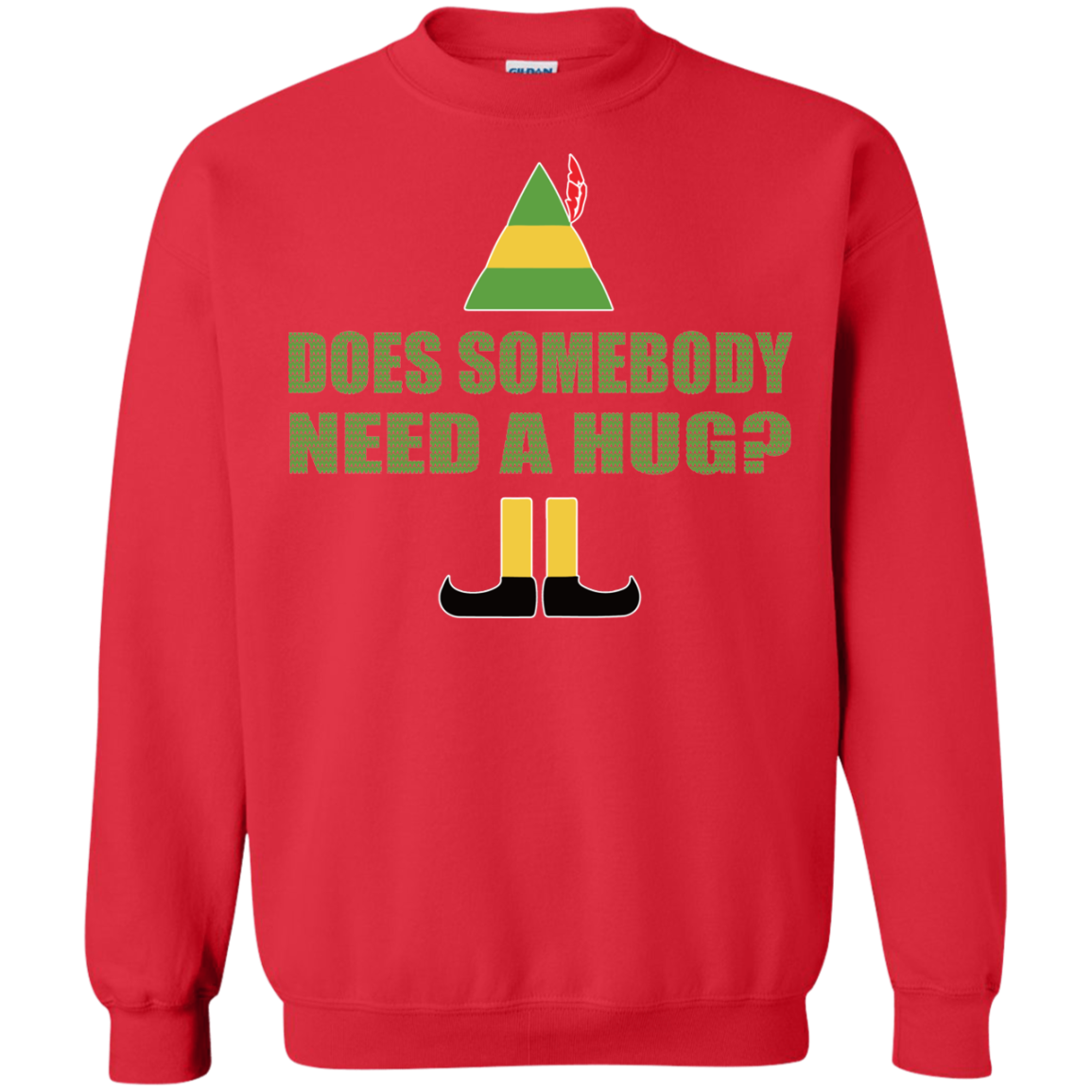 Buddy The Elf Does Somebody Need A Hug Christmas Sweater