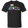 And That's How I Saved The World Jesus And Super Heroes T-Shirt