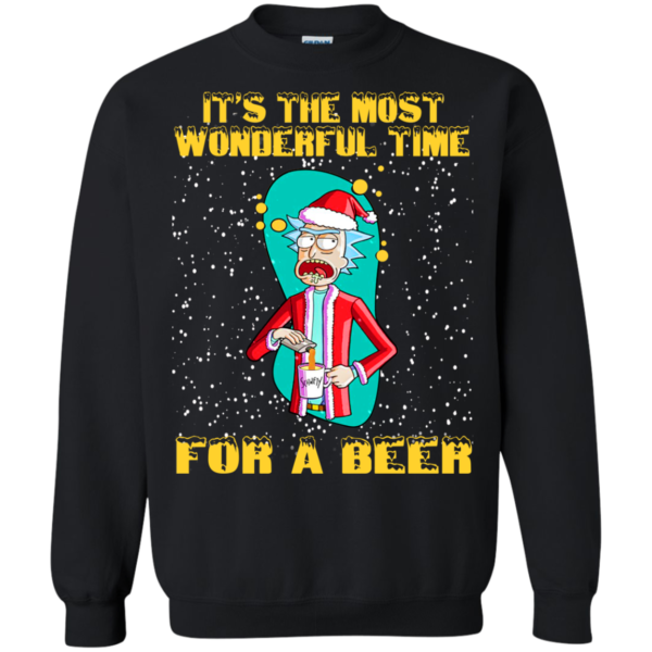 Rick And Morty – It's The Most Wonderful Time For A Beer Shirt, Sweater