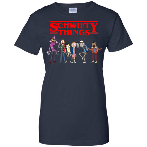 Rick And Morty – Stranger Things – Schwifty Things Shirt, Hoodie