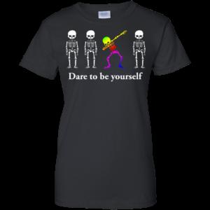 Dabbing Skeleton – Dare To Be Yourself Shirt, Hoodie, Tank