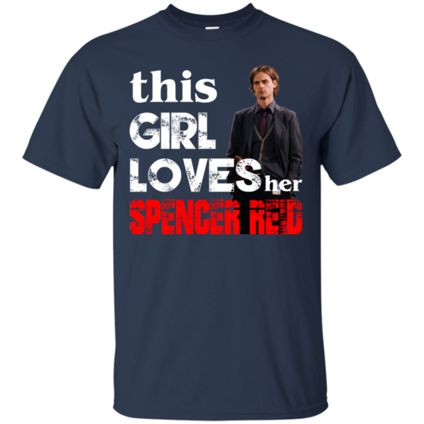 This girl loves her Spencer Reid Shirt, Hoodie, Tank