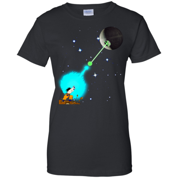 Songoku vs Death Star Shirt, Hoodie, Tank