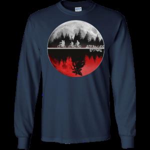 Stranger Things Moon Shirt, Hoodie, Tank
