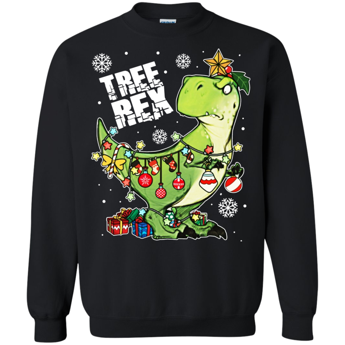 Préférence T-rex - Tree Rex Christmas Shirt, Sweatshirt | Allbluetees.com YI42