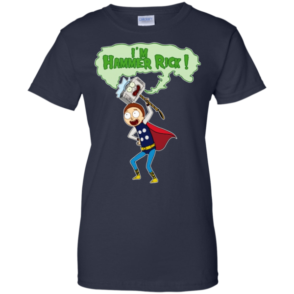 Rick And Morty – I'm Hammer Rick Shirt, Hoodie, Tank